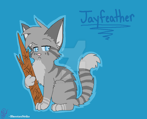 jayfeather and his stick by bluestarzstrike on deviantart