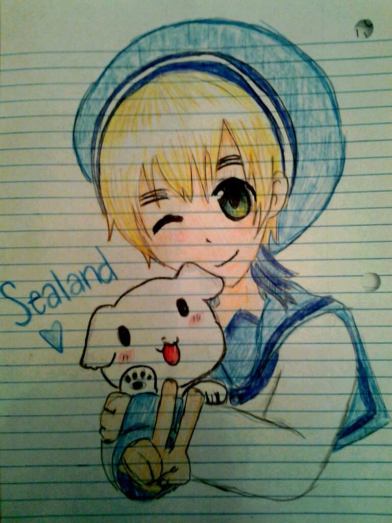 Sealand. by iScribbleKirklandz