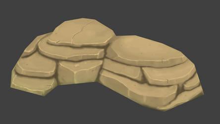 Stones handpainted