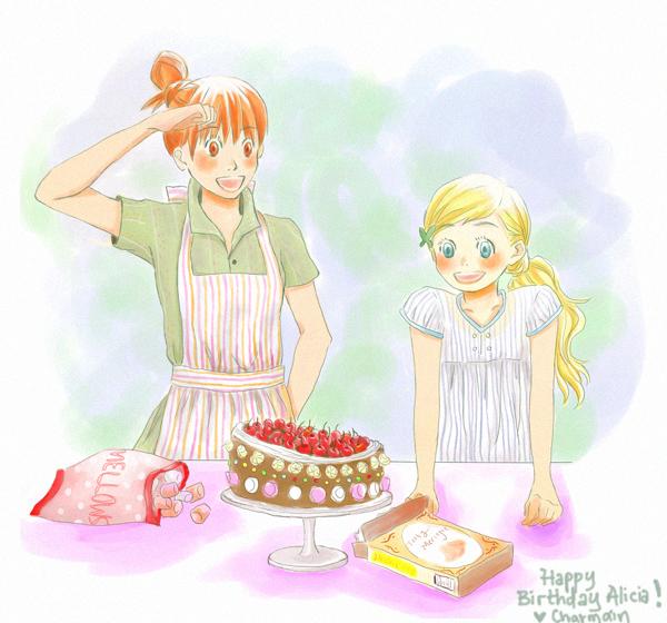 Happy Birthday Alicia By Dr-Gei On DeviantArt