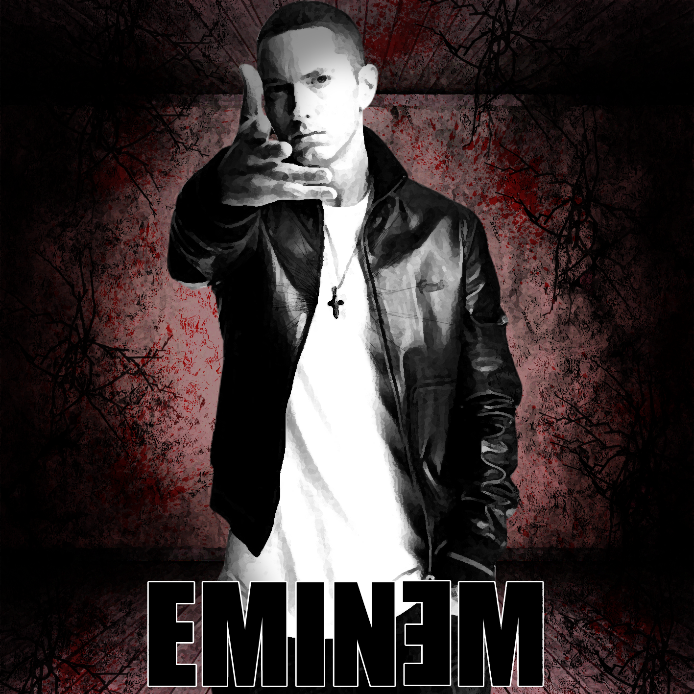 Eminem Album Art by TommyDLC1 on DeviantArt