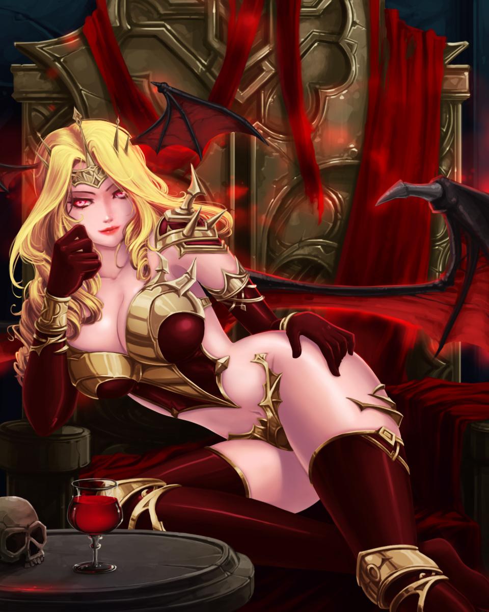 Queen Vampire by thunder112