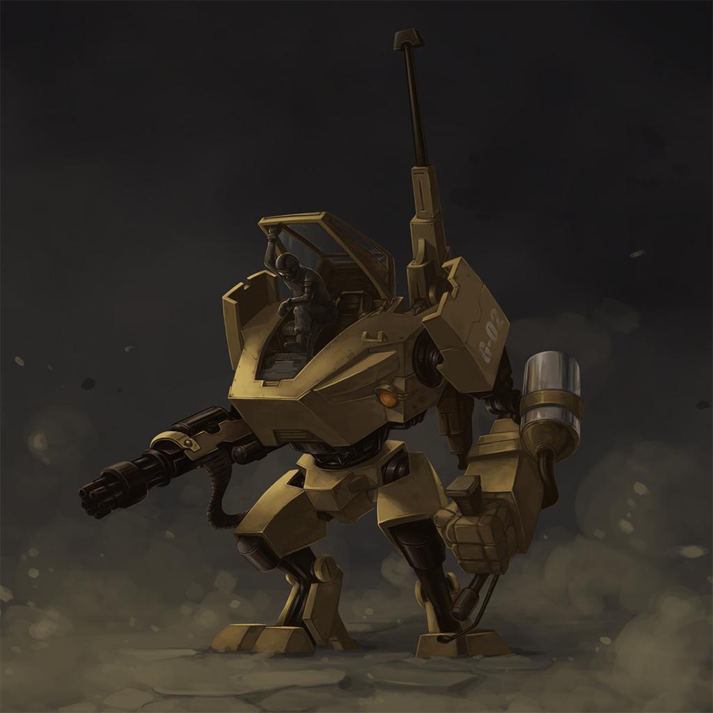 Gunbot by thunder112