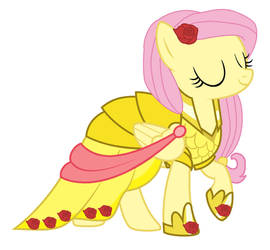 Fluttershy's dress by cheerful9