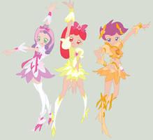 The Glitter Force Crusaders