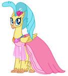 Princess Skystar Evergreen dress