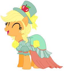 Applejack's victory celebration dress