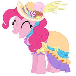 Pinkie Pie's victory celebration dress
