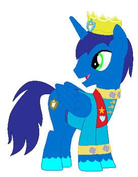 Valiant Shield's coronation outfit