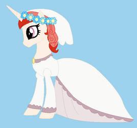 Dawnlight's first wedding dress