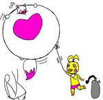 Toy Chica S Mangle Balloon reupload