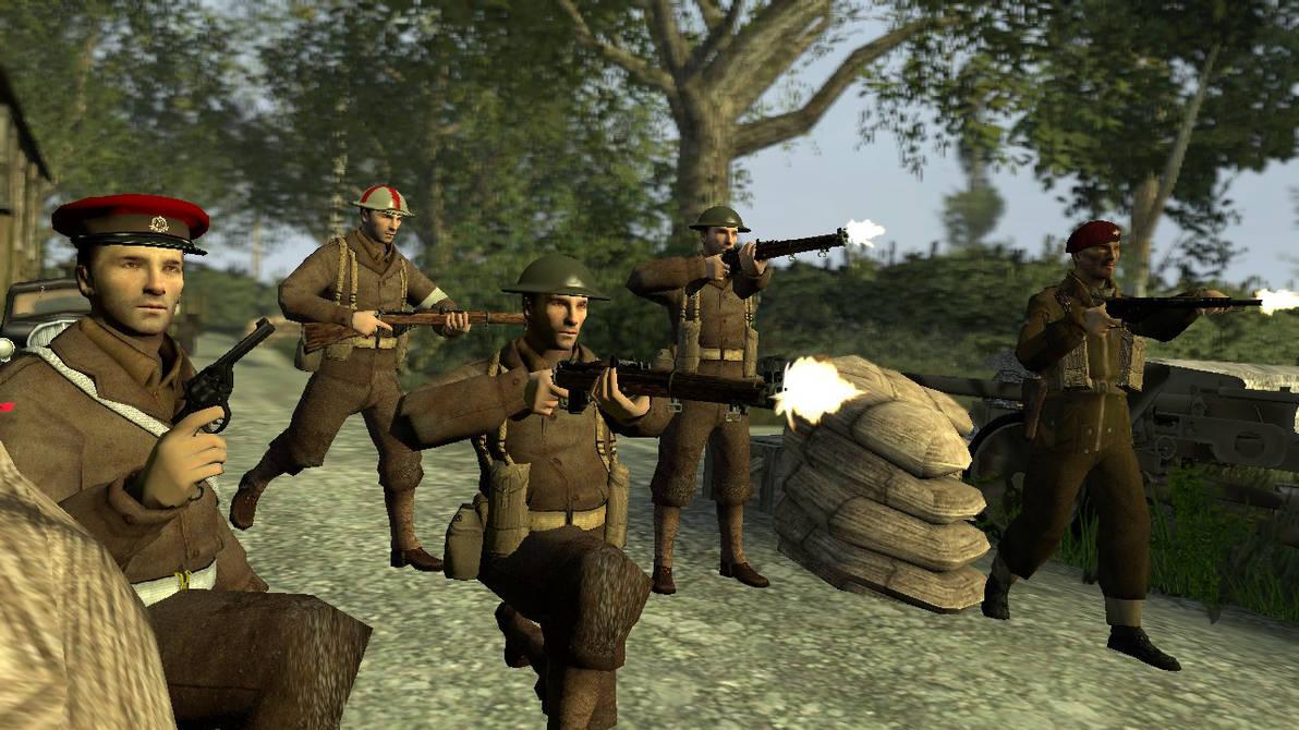 WW2 British soldiers by legoben2 on DeviantArt