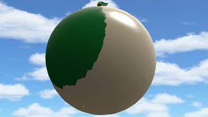 Balloon Snivy angle 3
