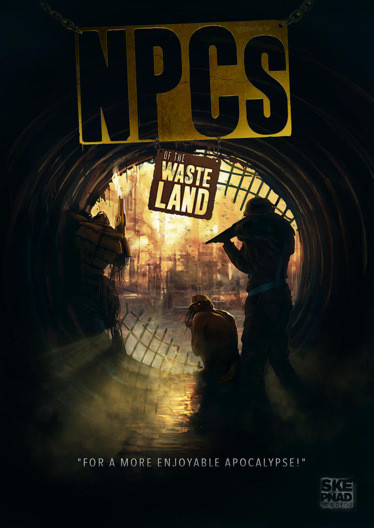 Frontpage NPCs of the Wasteland by MagnusMansson