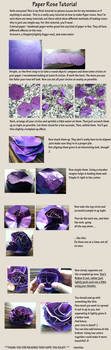 Paper Rose tutorial by Amritha-I