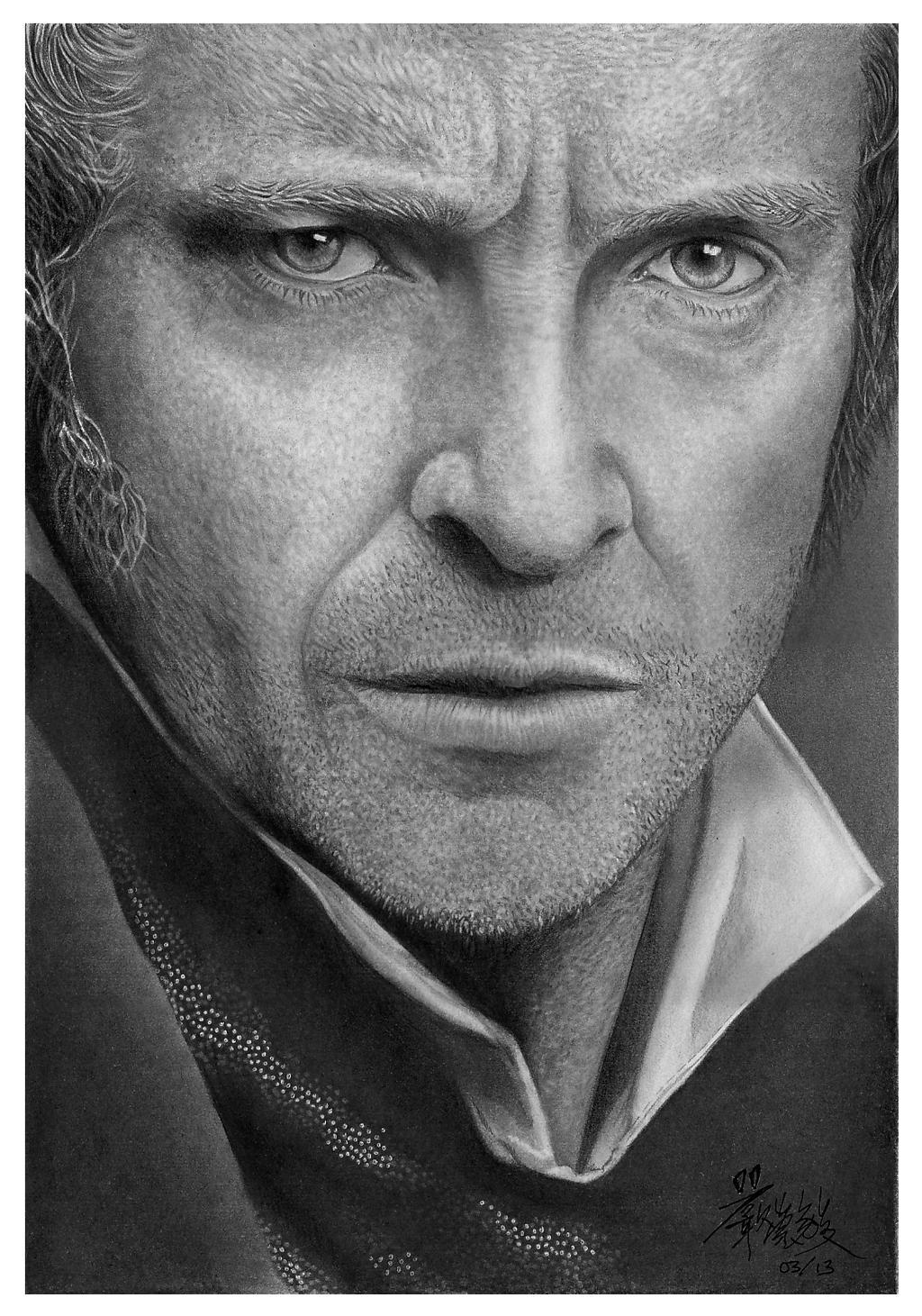 [Les Miserables Fan Art] Jean Valjean by chong-yi