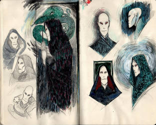 Lord Voldemort by Bonnino