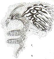 Dragon Tattoo by aerinoutlander