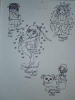 Hetalia boys: Magical Girls by aerinoutlander