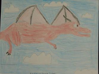 OC As A Flying TRex(1)