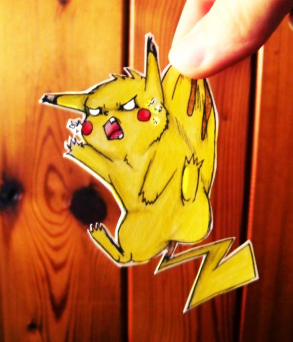 Pika-CHUUUUUUUUUU by doodle-dee