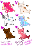 Closed Species FURZEME Adopts 4/6 Open