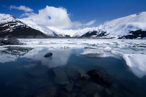 Portage Glacier by Brettc
