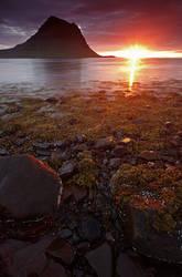 Kirkjufell , Iceland by Brettc