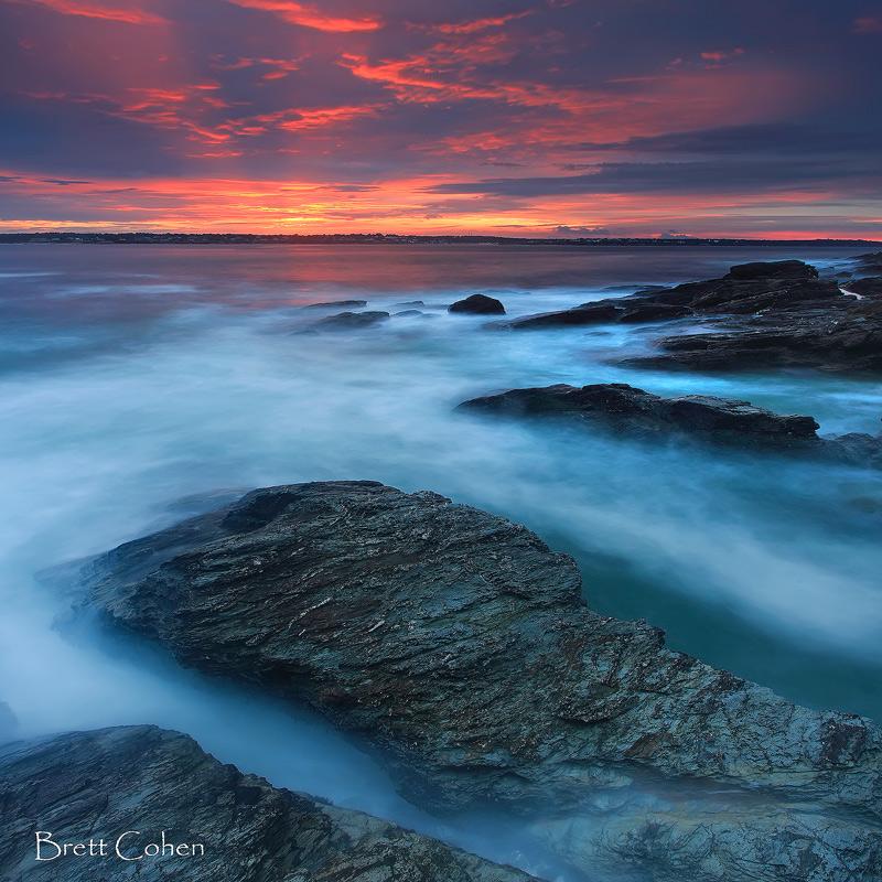 Last Light, Rhode Island by Brettc