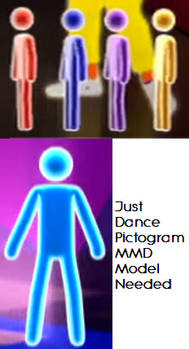 [Request] Just Dance Pictogram MMD Model