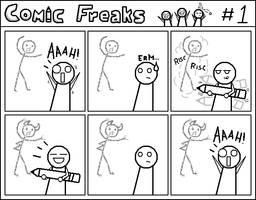 Comic Freaks 1: Scribble