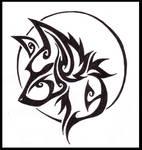 - wolf tattoo -