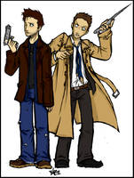 SPN - a walk in your shoes by woodooferret