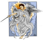 SPN - oldschool angel - with colors