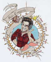 Congrats for 8 million! - Markiplier by woodooferret
