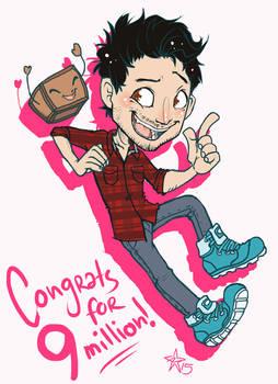 Congrats for 9 million subs! - Markiplier