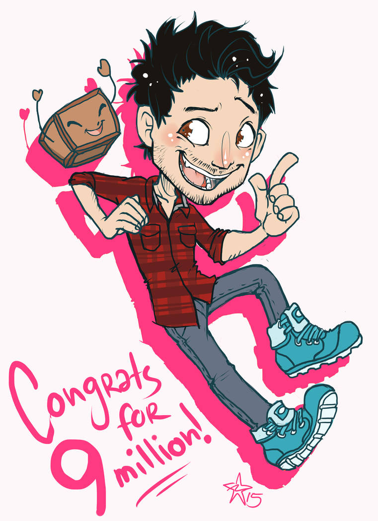 Congrats for 9 million subs! - Markiplier by woodooferret