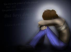 Boys don't cry by AlanKK