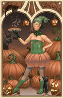 Halloween:  Pumpkins by thienbao