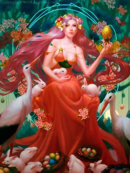 Easter Goddess