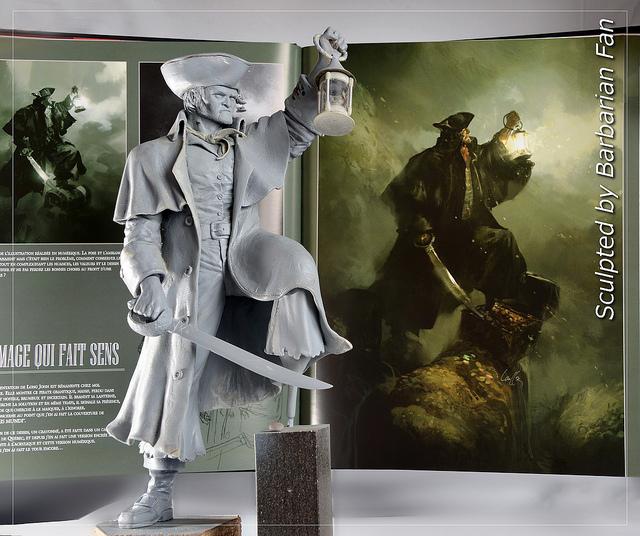 Long John Silver by BarbarianFanSculpt