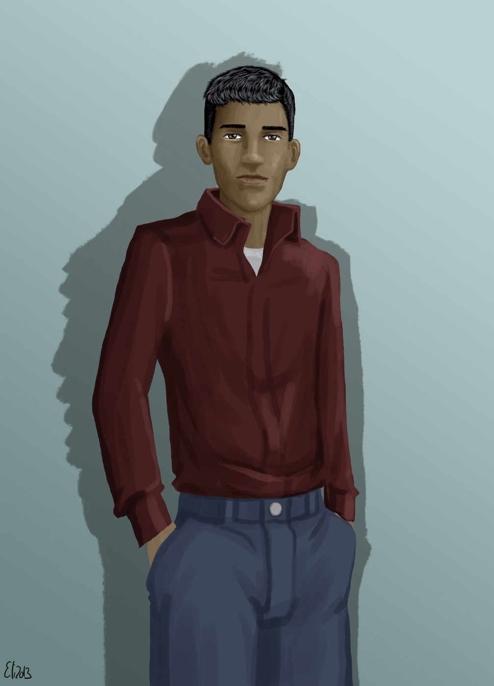 Felipe variant2 by Elikal