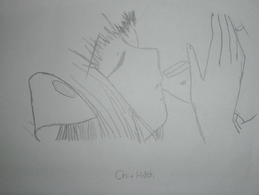 Chii and Hideki by ThatKidErin on DeviantArt
