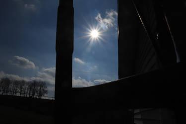 sun at my grandparents house
