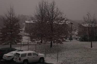 Snowy day at PTC 12/5/2018