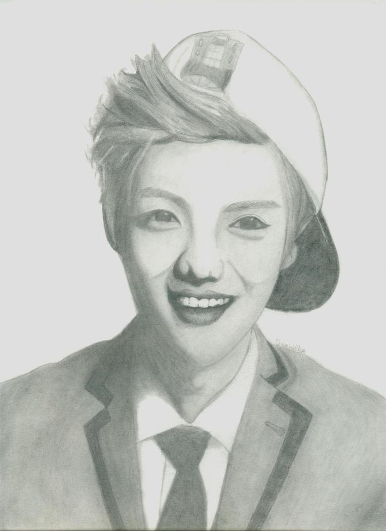 Luhan Drawing by BlueGirraffexx