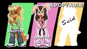 [OPEN] Adoptable adoptvk auction #12 by ADOPTVK
