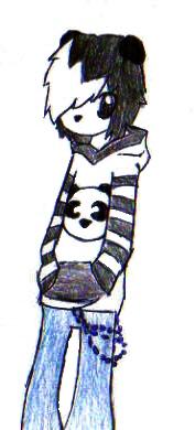 Panda Boi by XxPunkinxMelsxX