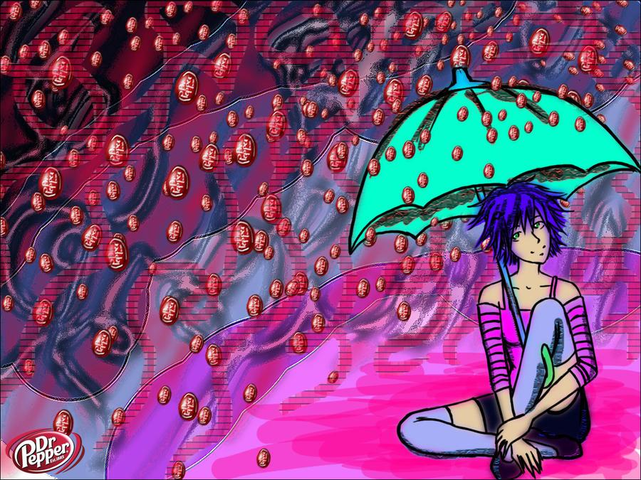 Dr Pepper Rain by hollowheartlessIzsak