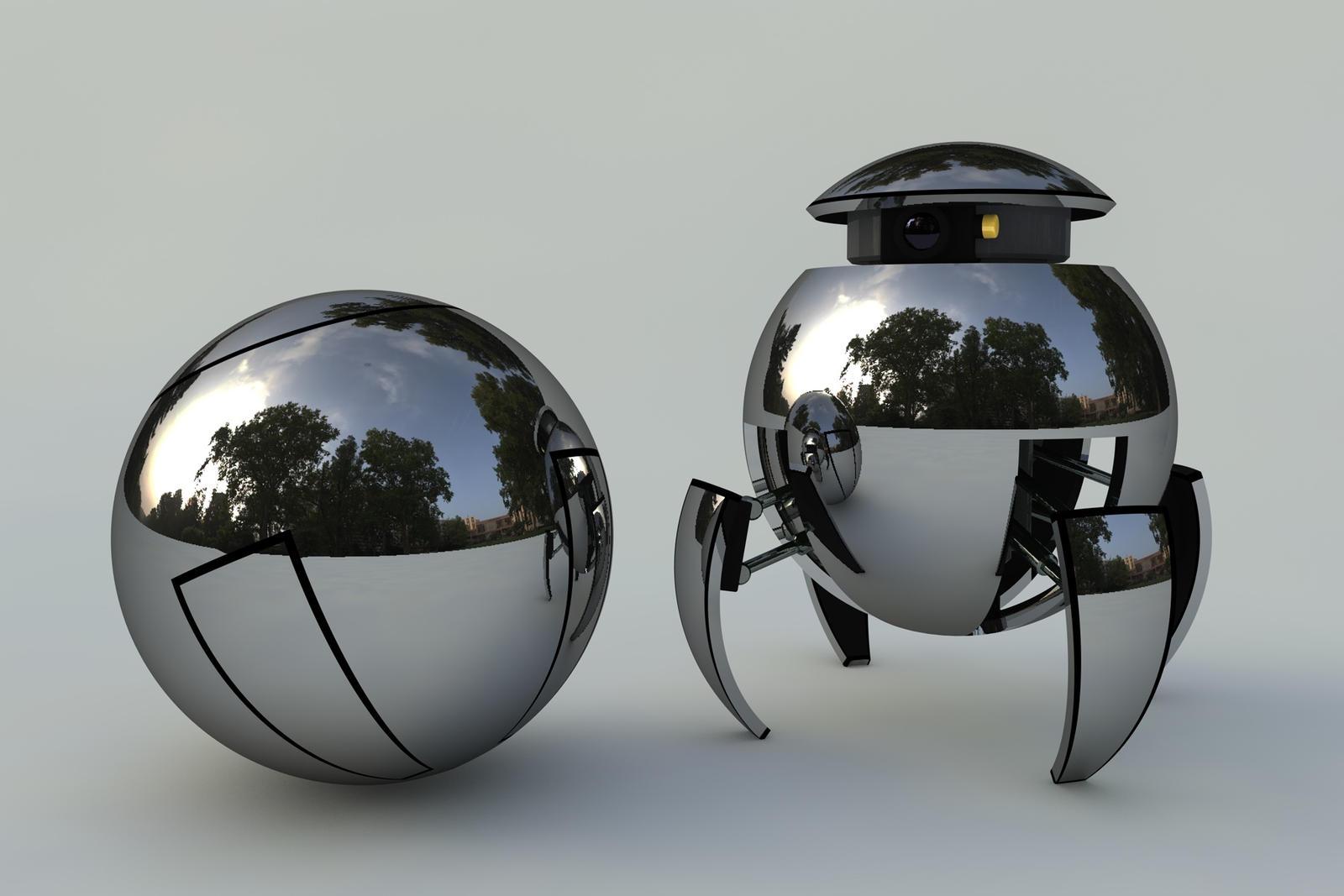 Spheroid - Mk. II by DCkiq
